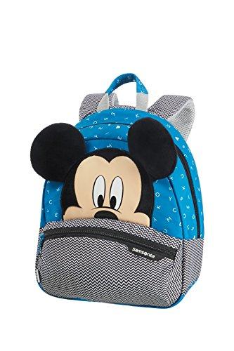 Samsonite Disney Ultimate 2.0 - Mochila Infantil, 7 l, Multicolor (Mickey Letters), S (28.5 x 23.5 x 13.5 cm)