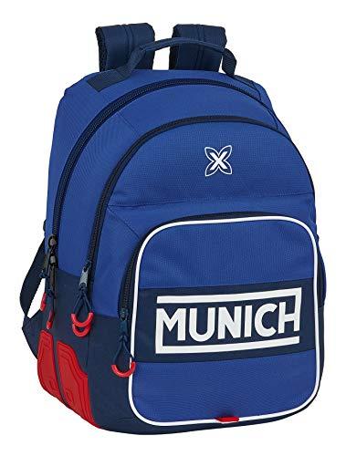safta 612074773 Mochila Escolar de Munich Retro, 320x150x420mm