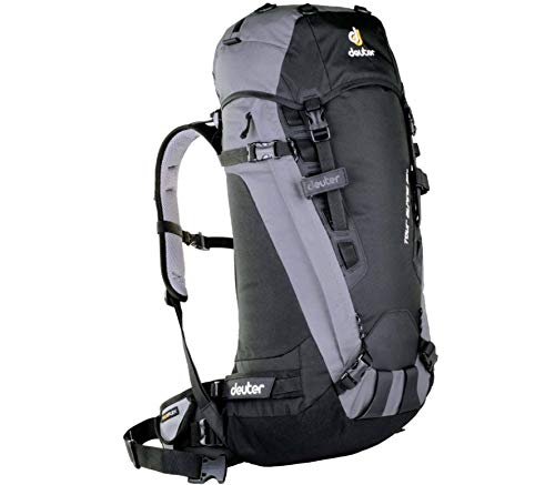 Deuter Tour Alpine 35+ - Mochila unisex, color negro
