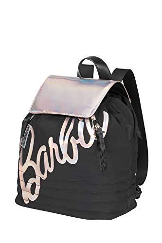 American Tourister Modern Glow Barbie - Mochila de ciudad, color negro (Shimmer Power Barbie)