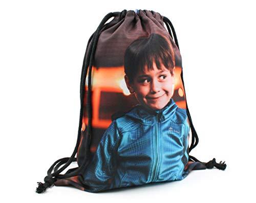 Mochila Saco Personalizada con Fotos y Texto | Mochila con Cuerdas para Llevar a la Espalda con Fotos | Talla 3: 33 x 43 cm