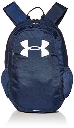 Under Armour UA Scrimmage 2.0 Backpack, mochila unisex, mochila resistente al agua unisex, azul (Academy/Academy/White(408)), Taglia unica