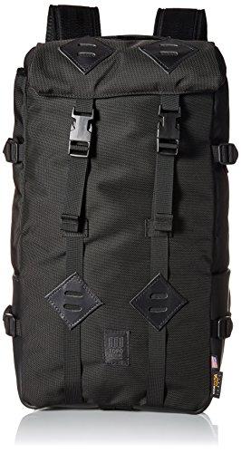 Topo Designs - Mochila casual Hombre negro Ballistic Black Black Leather talla única