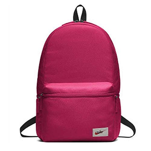 NIKE NK Heritage BKPK-Label Mochila, Adultos Unisex, Rush Pink/Black/Orange Blaze, One Size