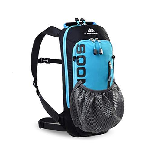 Irfora - Mochila de ciclismo con protector de lluvia, impermeable, 6 l, resistente al agua, transpirable, ultraligero, para los deportes al aire libre