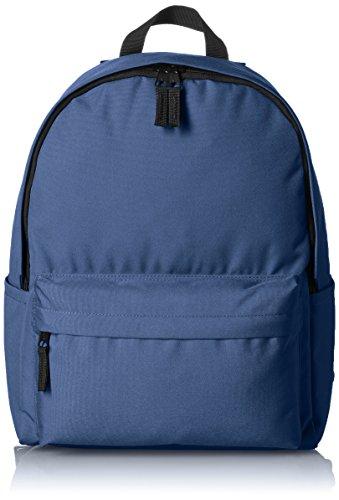 Amazon Basics, Mochila de estilo clásico, Azul (Azul Marino)