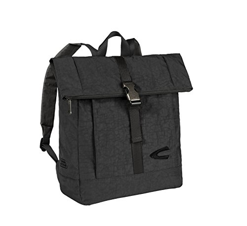 Camel Active Mochila, 38 cm, 14 L, Color Negro