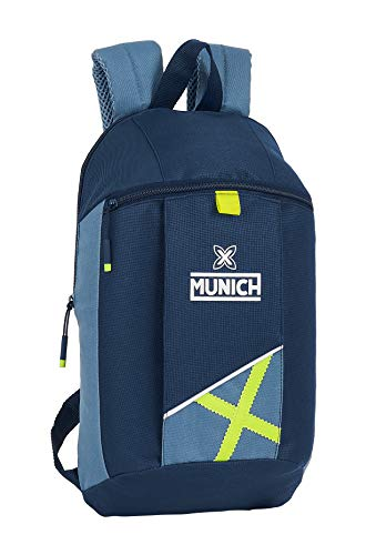 safta 612098821 Mini Mochila Uso Diario de Munich Lima, 220x100x390mm