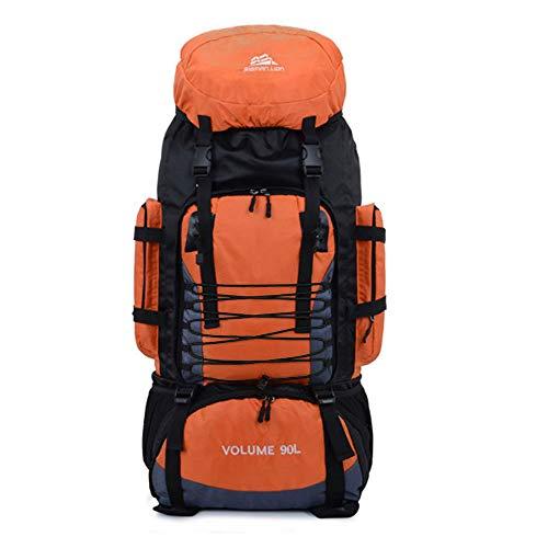 NYWENY Mochila de senderismo de 90 L, transpirable, ligera, para montañismo, viajes, camping, senderismo, mochila de deportes al aire libre, mochila para hombres y mujeres