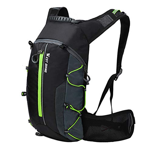 belupai - Mochila Impermeable para Bicicleta de montañismo, Transpirable, 10 L, Ultraligera, para Escalada, Ciclismo, hidratación