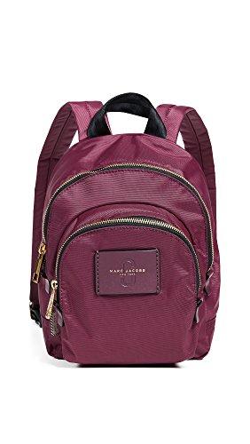 Marc Jacobs mochila de nylon rosa 25x30x8cm nuevo