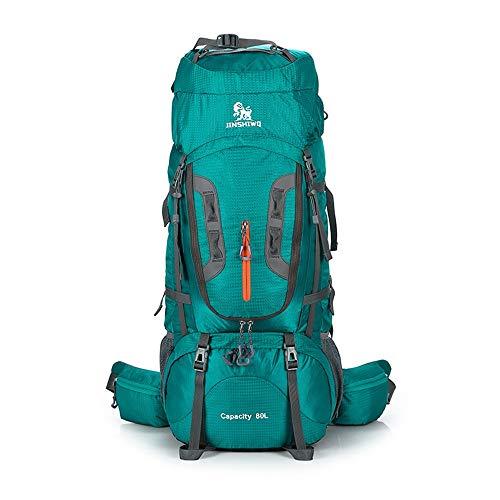 Mochila deportiva diaria de Trekking Rucks Alta Capacidad 80L del morral del recorrido de múltiples funciones impermeable Escalada Trekking que va de excursión alpinismo mochila for deporte al aire li