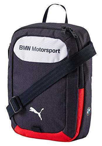 Puma BMW Motorsport Portable Bolso Bandolera, Unisex, Team Blue White, OSFA