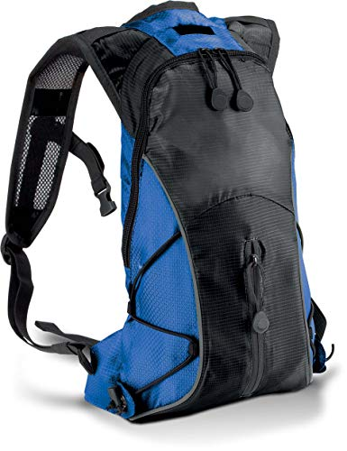 Kimood KI0111 - Mochila deportiva (ultraligera), color marrón, color Black / Slate Grey, tamaño 31 x 21 x 8 cm, volumen 5.0liters