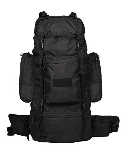 Mil-Tec Ranger's - Mochila (75 L), color negro