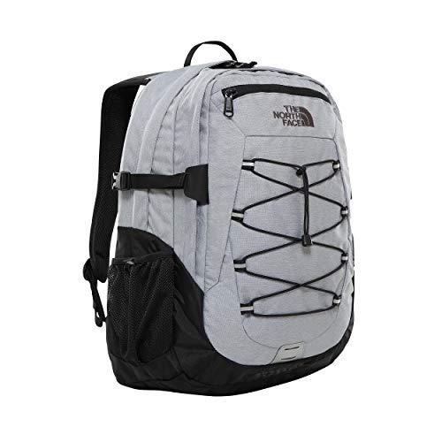 The North Face Borealis Classic Midgryhtr/Tnfbk Daypack, Unisex Adulto, Mid Grey Heathr/TNF Black, OS