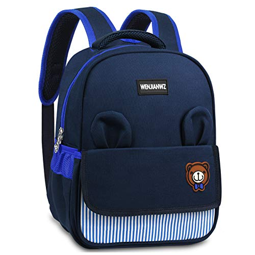 Mochila para niños, Oso Mochila Infantil Mochilas para Viajar, Mochilas Escolares para 6-9 años Estudiantes,niños y niñas,Azul