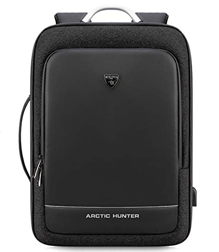 Arctic Hunter Lexoop - Mochila unisex para ordenador portátil, color negro