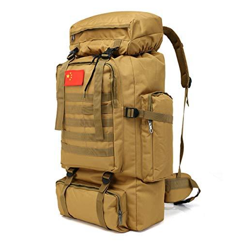 70L Molle Camo Mochila táctica Militar ejército Impermeable Camping Senderismo Mochila de Viaje al Aire Libre Deportes Escalada Bolsa