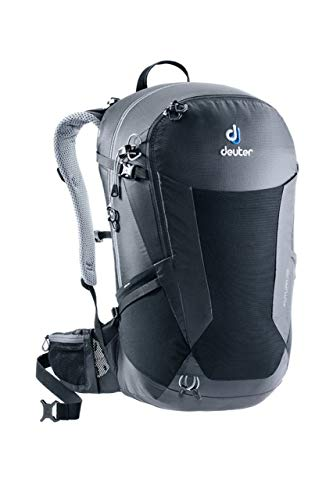 Deuter Futura 28 Mochila, Unisex Adulto, Negro (Black), 54 Centimeters