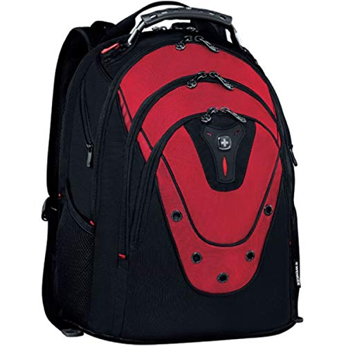 Wenger 601687 IBEX 17' Mochila, compartimento acolchado para portátil con iPad/Tablet Pocket en Roja {23 litros}