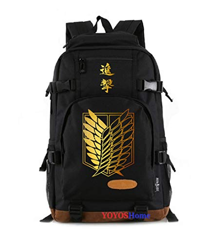 YOYOSHome Anime Attack on Titan - Mochila para cosplay