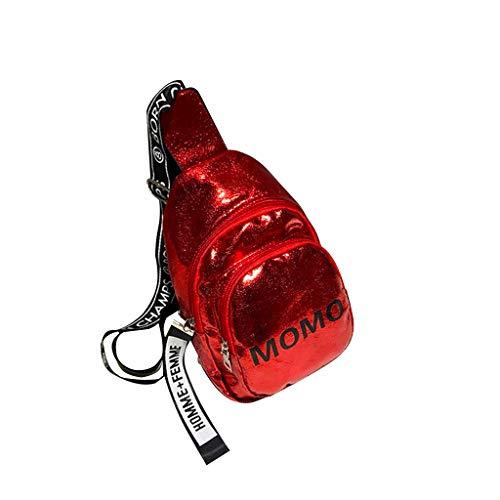 Luckycat Riñoneras de Moda Mujeres Hombres Impresión Deportes Senderismo Cinturón Running Cintura Bolsa Bolso Bandolera para Mujer con Cinturón para el Ombligo Bolsos de la cintura del cuero de la PU