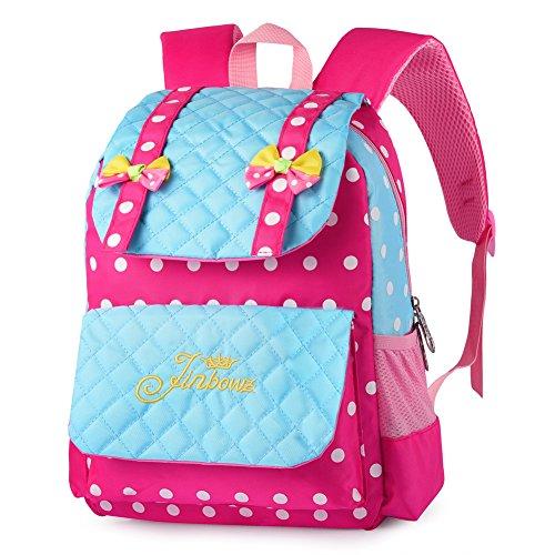 Vbiger Mochila para Niñas Mochila Escolares Infantiles de Preescolar Primaria 5-9 Años (Azul1)