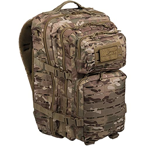 Tactical OPS MILTEC USA Mochila MULTITARN | US Assault 36L LARGE LaserCut Color: MULTITARN