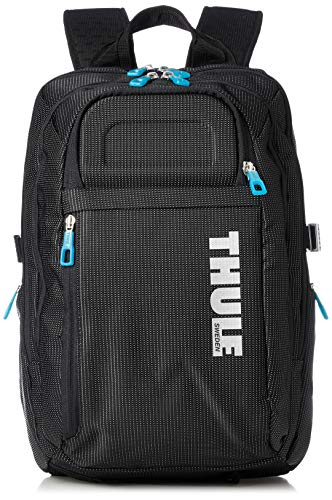 Thule Crossover - Mochila para MacBook Pro 15', Color Negro con puntos blancos