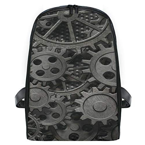 Mini Mochila Daypack Old Rusty Metal Gears Piezas de la máquina Mochila Bolsa Ligera para niñas Niños