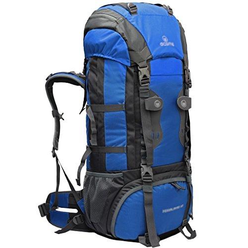 Outdoor A Mochila Montaña Hombre/Mujer 60L / 70L Senderismo Mochila al Aire Libre Bolsa de Alpinismo Deportivo Mochila (Color: 4, Tamaño: 60L-25 * 30 * 78cm)