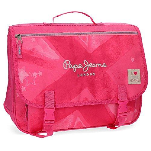 Pepe Jeans Clea Carteron-Mochila para Portátil 13,3' Rosa 39,5x30,5x16,5 cms Poliéster 19.88L