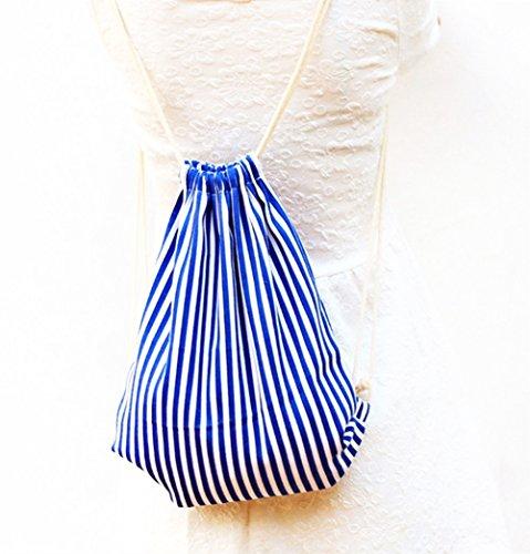 Hacoly Tira Bolsa cordón de Tela Bolsas Deportivas Bolsa de Gimnasia Bolsas Zapatillas de Viaje Drawstring Bag impresión Bolso Deportiva Saco cordón Mochila para Mujer y Chica