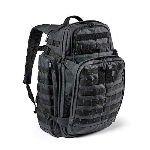 5.11 Mochila Táctica Rush 72 2.0 – Mochila Militar Molle, CCW Portación Oculta y Compartimento para Ordenador Portátil, 55 litros, Grande, Estilo 56565 – Color Double Tap