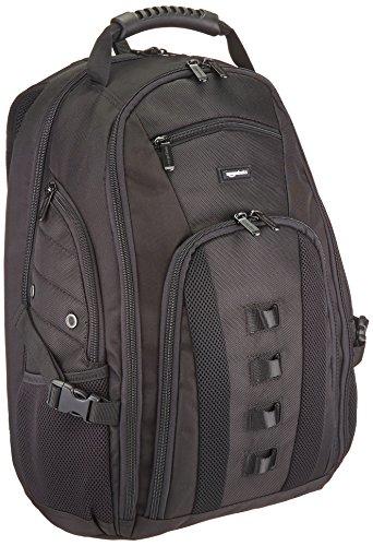 Amazon Basics Adventure - Mochila para portátil de hasta 17 pulgadas