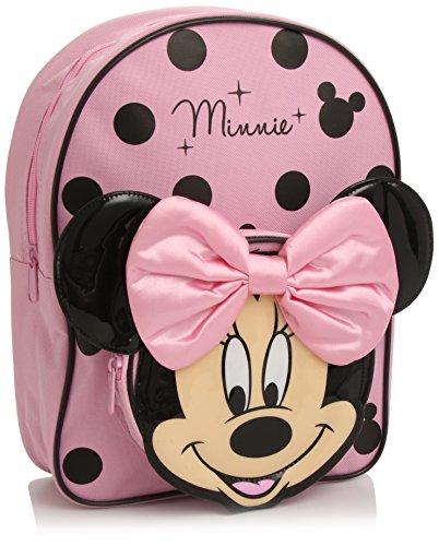 Disney Minnie Mouse - Mochila, Color Rosa y Negro