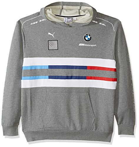 PUMA BMW Motorsport Street Sudadera con Capucha para Hombre, Hombre, Sudadera con Capucha, 59518101, Grande, PUMA Black