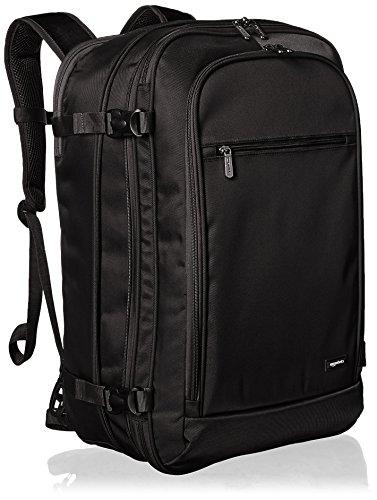 Amazon Basics - Mochila de equipaje de mano - Negro
