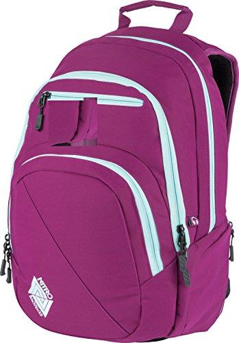 Nitro Snowboards Stash, Mochila tipo casual 29 litros, 49 cm, Grateful Pink