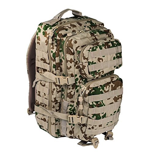 Pack de asalto MOLLE táctico con mochila de patrulla 36L, Tropentarn