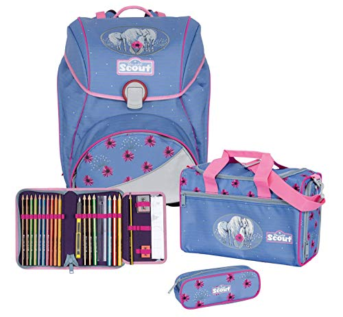 Scout Alpha - Juego de mochila y accesorios escolares (4