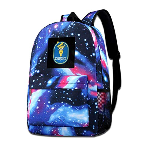 Warm-Breeze Galaxy Impreso Hombros Bolsa Wheres Wally Waldo Chiquito Moda Casual Star Sky Mochila para niños y niñas