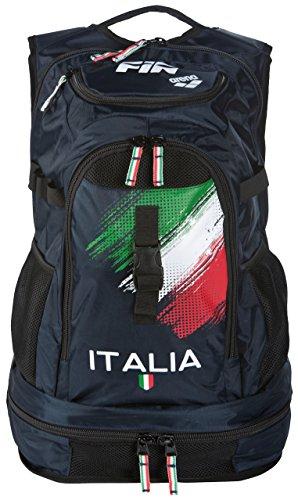 ARENA Fastpack 2.1Fin Italia Bolsa, Azul Marino, Talla única