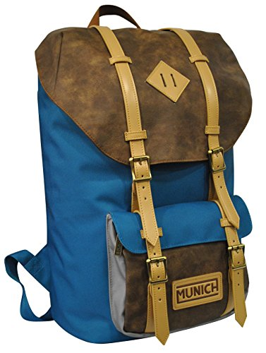 Munich Hipster Mochila Tipo Casual, 45 cm, 19 litros, Azul