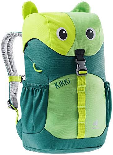 Deuter Mochila infantil unisex Kikki, Unisex niños, Mochila para niños, 3610421, verde aguacate, 8 l