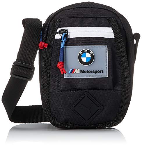 PUMA 7731601 Mochila Mini Portable BMW Motorsport para Unisex Adulto, Negro, Talla Única