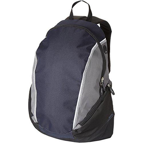 Slazenger - Mochila para portátil 15.4 modelo Brisbane (31 x 19 x 46cm/Azul marino/Gris)