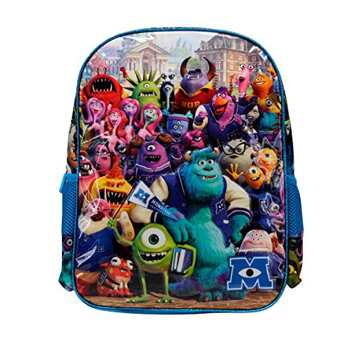 KARACTERMANIA Monstruos S.A. University-Mochila Basic, Multicolor