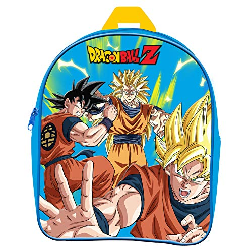 Dragon Ball Z Mochila Infantil Guarderia Goku Super Saiyan Dragon Ball Z 25cm